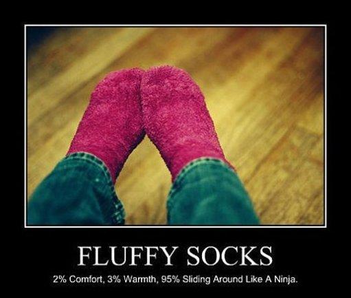 Fluffy Socks