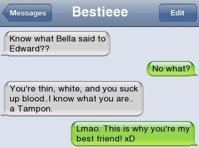 Funny SMS – Twilight