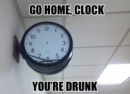 Go home clock