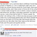 Good guy Taco Bell