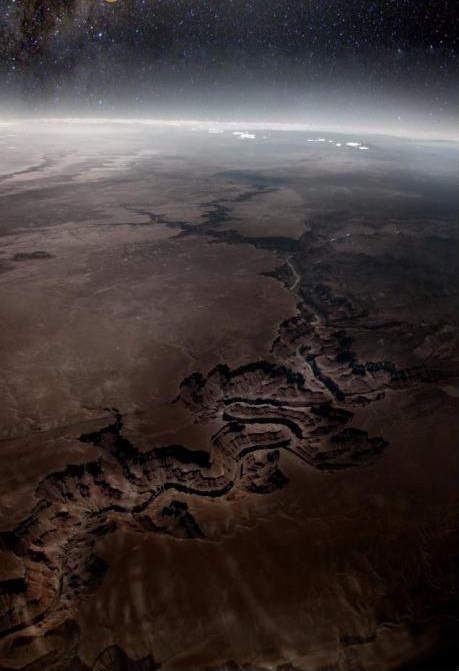 Grand Canyon from Outer Space