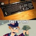 Hipster Keyboard