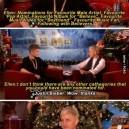 Hurray for Ellen! Burned Justin Bieber