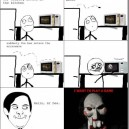 Jigsaw moment in Real Life
