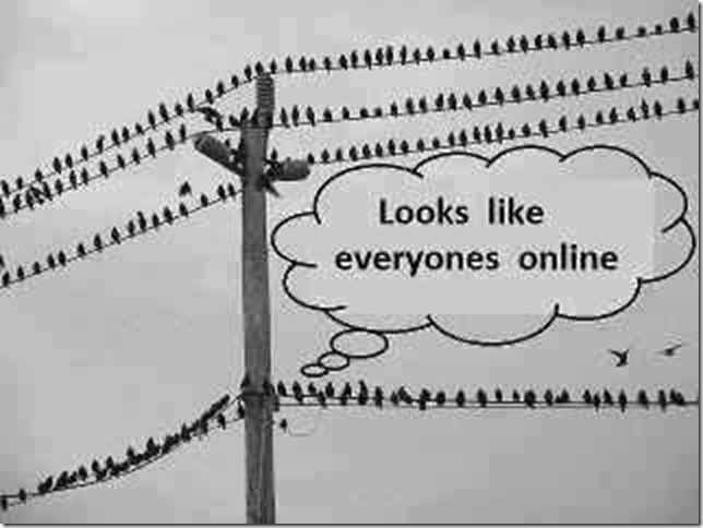 Looks like every one is online