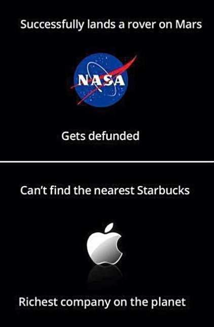 NASA vs. Apple