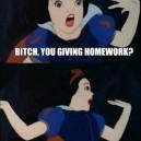 No time for homework