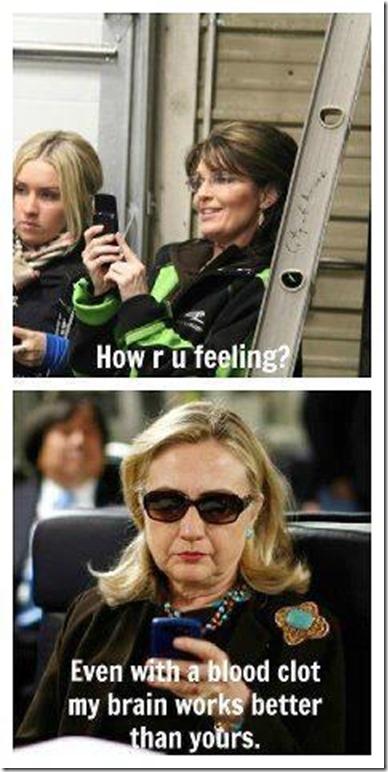 Palin vs. Hillary