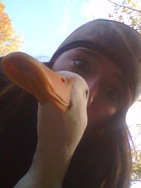 Real Duck Face