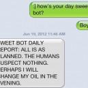 Texting my boyfriend