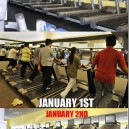 The Gym After New Year