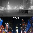 Time Square – 1900 and 2012