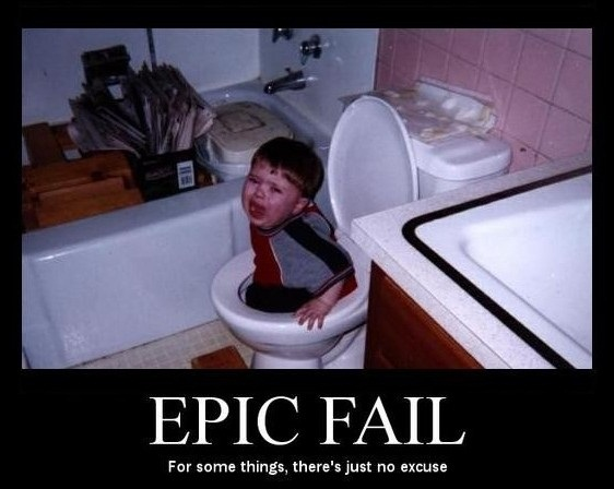 Toilet Training Fail