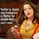 Twitter vs. Instagram