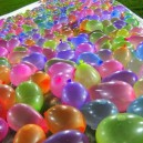 Water balloon slip and slide