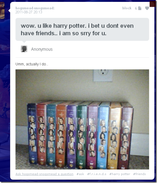 You Like Harry Potter
