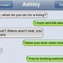 Aliens aren't real