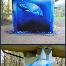 Amazing Shark Graffiti