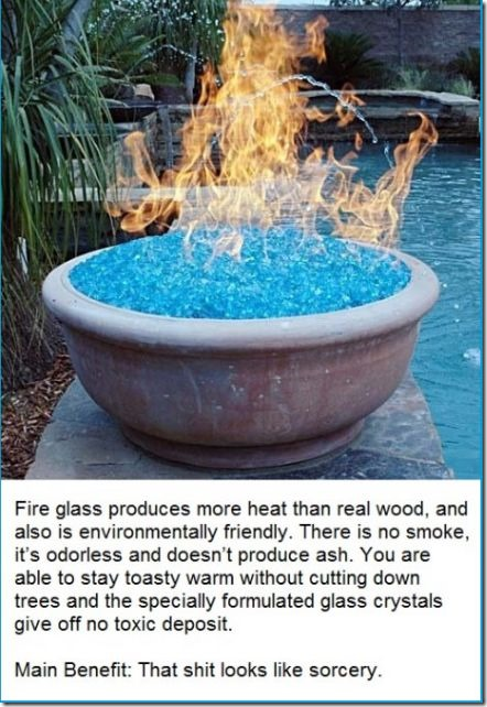 Awesome Fire Glass