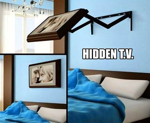 Awesome Hidden TV