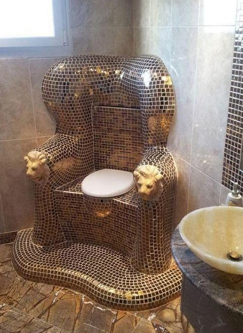 Behold this glorious throne!