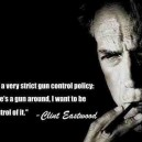 Clint Eastwood On Gun Control