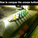 Conquering the snooze button