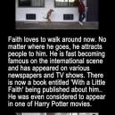 Faith the dog