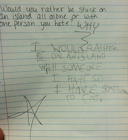 Funny Pictures – This is one smart kid