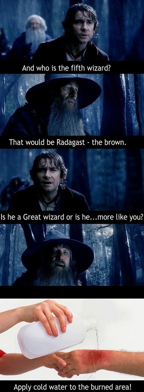 Gandalf Burned