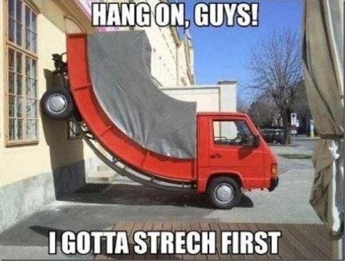 Hang on guys!