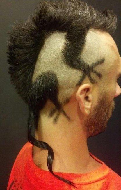 Iguana Haircut