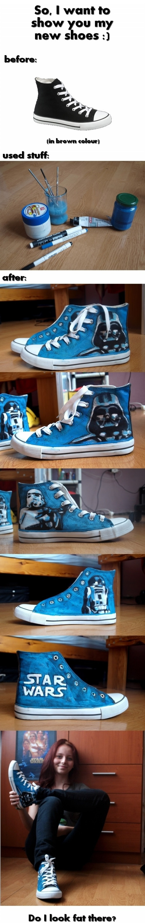 Look At My New Shoes!