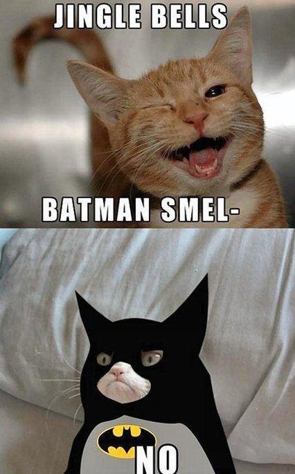 MEME – Grumpy Batman