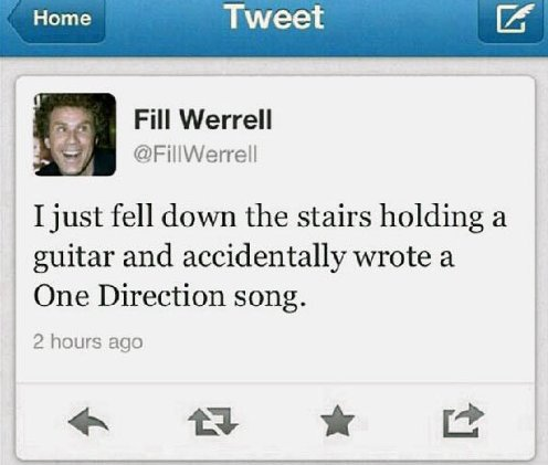 One direction song