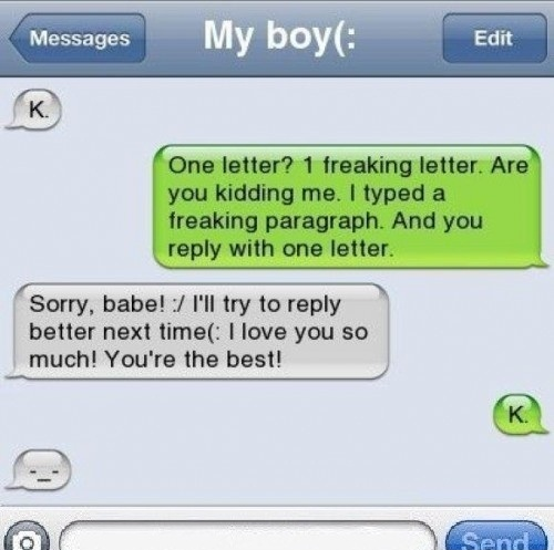 She Trolled Her Boyfriend