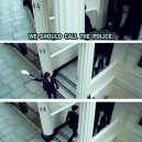 Sherlock solving a problem