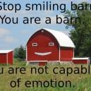 Stop Smiling!