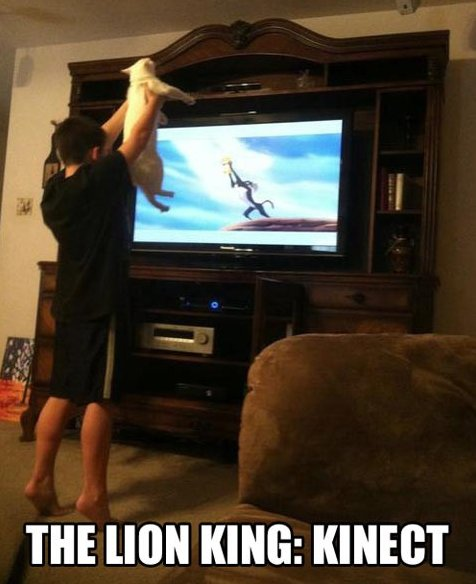 The Lion King: Kinect