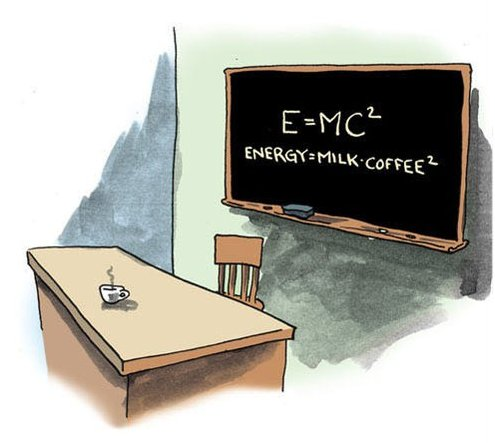 The formula of my mornings