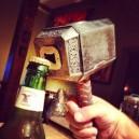 Thors hammer bottle opener