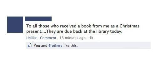 To All Those Who Received Books From Me