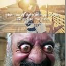 When boys stare into girl's eyes…
