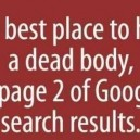 Where Is The Best Place To Hide A Dead Body?