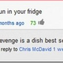 A gun in the fridge