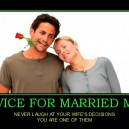 Advice for Married Men
