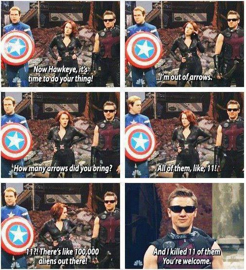 Awesome Hawkeye