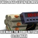 Bad guy in movies