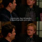 Barney teaching Ted how to live