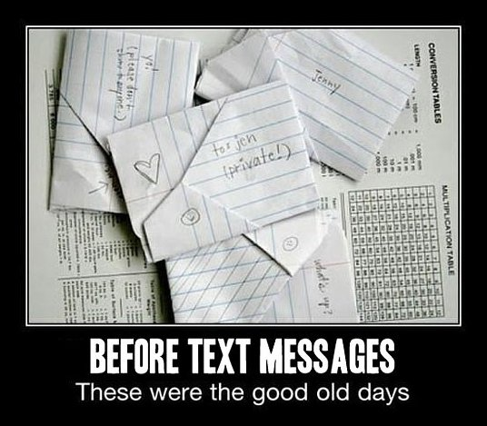 Before SMS